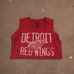 Detroit Red Wings Sleeveless Shirt